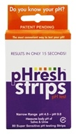 Phresh Products - Phresh Saliva & Urine pH Test Strips - 80 Strip(s)