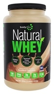 Bodylogix - Natural Whey Protein Natural Dark Chocolate - 1.85 lbs.