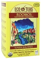 Eco Teas - Rooibos Sustainably Harvested Warm Balance - 24 Tea Bags