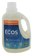 Earth Friendly - ECOS 2X Ultra All Natural Laundry Detergent Magnolia & Lily - 170 oz.