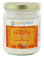 Pure Planet - Tropic Oil Raw Organic Coconut Oil - 16 oz.