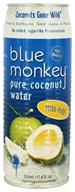 Blue Monkey - 100% Pure Coconut Water with Pulp - 17.6 oz.