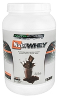 NutriForce Sports - NutriWhey All Natural Whey Protein Powder Belgian Chocolate - 2 lbs.