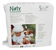Naty - Babycare Diapers Stage 5 (27+ lbs) - 23 Diaper(s)