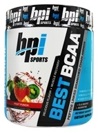 BPI Sports - Best BCAA Powder Peptide Linked Branched Chain Aminos Fruit Punch - 10.58 oz.