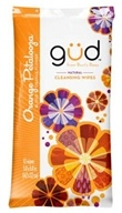 GUD From Burt's Bees - Natural Cleansing Wipes Orange Petalooza - 10 Wipe(s)