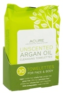 ACURE - Argan Oil Cleansing Towelettes Unscented - 30 Towelette(s)