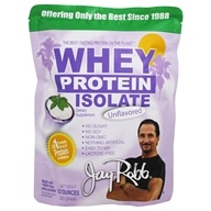 Jay Robb - Whey Protein Isolate Unflavored - 12 oz.