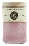 Terra Essential Scents - Massage & Aromatherapy Soy Candle Lavender & Rosewood - 2.5 oz.
