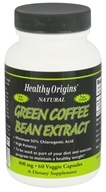Healthy Origins - Natural Green Coffee Bean Extract 400 mg. - 120 Vegetarian Capsules