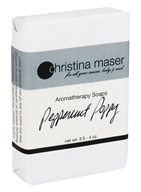 Christina Maser - Aromatherapy Bar Soap Peppermint Poppy - 3.5 oz.