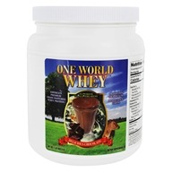 One World Whey - Protein Power Food Nature's Chocolate - 1 lb.