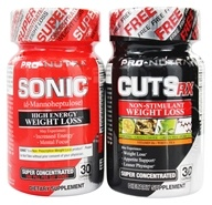 Pro Nutra - Sonic & Cuts RX Shrink Pack
