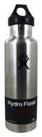 Hydro Flask - Stainless Steel Water Bottle Vacuum Insulated Standard Mouth Stainless - 21 oz.