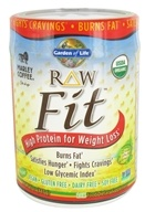 Garden of Life - Raw Fit High Protein for Weight Loss Marley Coffee - 16 oz.