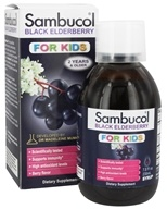 Sambucol - Black Elderberry For Kids Liquid - 7.8 oz.