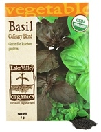 Lake Valley Seed - Organic Basil Culinary Blend Seeds - 1 Grams