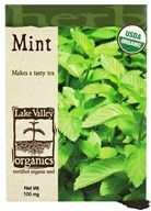 Lake Valley Seed - Organic Mint Seeds - 100 mg.