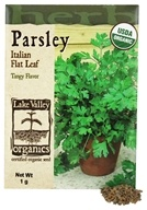 Lake Valley Seed - Organic Parsley Italian Flat Leaf Seeds - 1 Grams