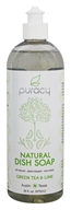 Puracy - All Natural Dish Soap Green Tea & Lime - 16 oz.