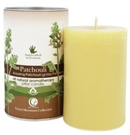 "Way Out Wax - Pillar Candle Patchouli - 2.75"" x 4"""