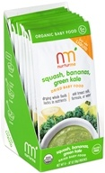 Nurturme - Organic Dried Baby Food 6+ Months Squash, Bananas, Green Kale - 0.67 oz.