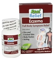 Homeolab USA - Real Relief Eczema - 90 Chewable Tablets