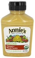 Annie's Naturals - Organic Mustard Honey - 9 oz.