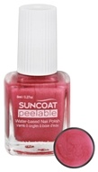 Suncoat - Polish & Peel Water-Based Nail Polish Pink Dahlia - 0.27 oz.