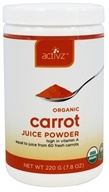 Activz - Organic Carrot Juice Powder - 7.8 oz.