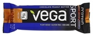 Vega - Vega Sport Plant-Based Protein Bar Chocolate Peanut Butter - 2.14 oz. LUCKY PRICE