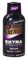 5 Hour Energy - Energy Shot Extra Strength Grape Flavor - 2 oz.