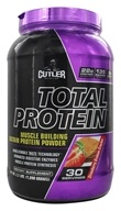 Cutler Nutrition - Total Protein Muscle Building Sustain Powder Strawberry Graham Cracker 30 Servings - 2.3 lbs.