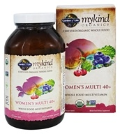 Garden of Life - mykind Organics Women's Multi 40+ Whole Food Multivitamin - 120 Vegetarian Tablets