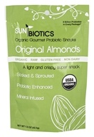 Sunbiotics - Organic Raw Almonds Original - 1.5 oz.