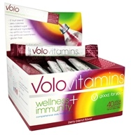 Volo Vitamins - Wellness + Immunity Daily Multi-Vitamin Berry Blend - 40x 3.6 oz. Stickpacks
