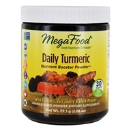 MegaFood - Daily Turmeric Nutrient Booster Powder - 2.08 oz.