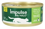 Halo Purely for Pets - Impulse Canned Cat Food Quail & Garden Greens - 5.5 oz.