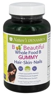 Nature's Dynamics - B Beautiful Whole Food Hair, Skin & Nails - 30 Gummies