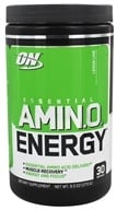 Optimum Nutrition - Essential AmiN.O. Energy Lemon Lime 30 Servings - 9.5 oz.