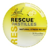 Bach Original Flower Remedies - Rescue Remedy Pastilles Lemon - 1.7 oz.
