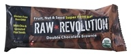 Raw Revolution - Fruit, Nut & Seed Super Food Bar Double Chocolate Brownie - 1.6 oz.
