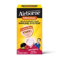 Airborne - Chewable Immune Support Berry - 64 Tablets