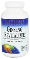Planetary Herbals - Ginseng Revitalizer 1000 mg. - 180 Tablets