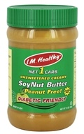 I.M. Healthy - SoyNut Butter Unsweetened Creamy - 15 oz.