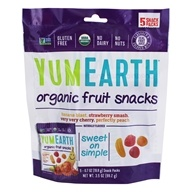 Yummy Earth - Organic Gluten Free Fruit Snacks - 5 Pack(s)