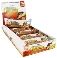 ANSI (Advanced Nutrient Science) - Gourmet Cheesecake Natural Protein Bar Peanut Butter Chocolate Chip - 2.1 oz.