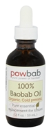 Powbab - 100% Baobab Oil Cold Pressed - 2 oz.