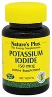 Nature's Plus - Potassium Iodine Supplement 150 mcg. - 100 Tablets