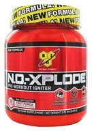 BSN - N.O.-Xplode Pre-Workout Igniter Non-Caffeinated Fruit Punch - 1.21 lbs.